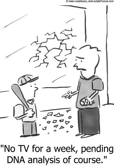 evidence cartoon