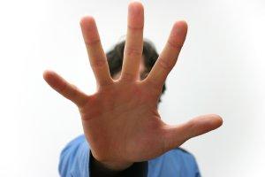 hand stop