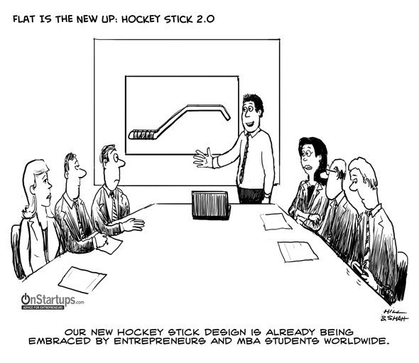 onstartups hockey stick 2.0
