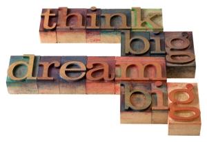 onstartups think big dream big