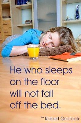 sleep floor